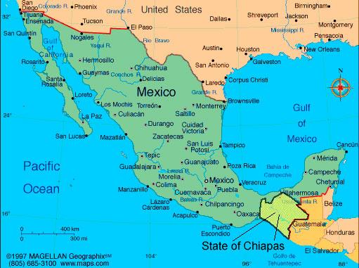 Штат Чьяпас, Мексика